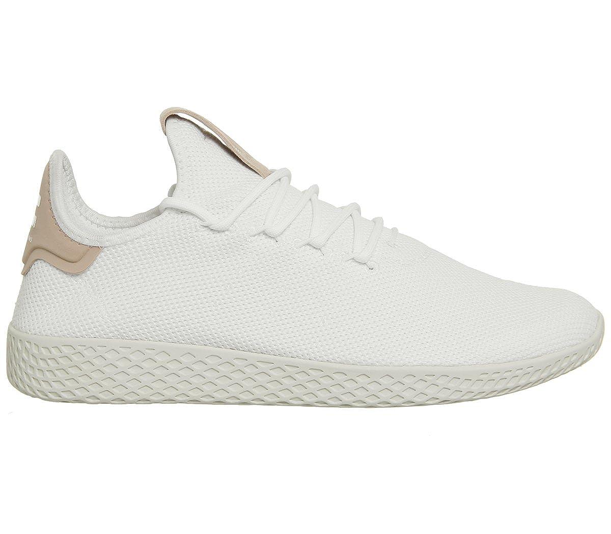 size 40 65548 27a60 Amazon.com  adidas Originals PW Tennis Hu Shoes 10.5 B(M) US Women  9.5  D(M) US White  Fashion Sneakers