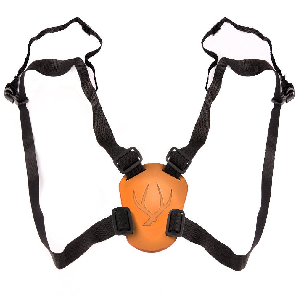 Solomark Deluxe 4 Way Adjustable Deluxe Binocular Strap, Black-binocular Harness SOLOMARK_QHAP033