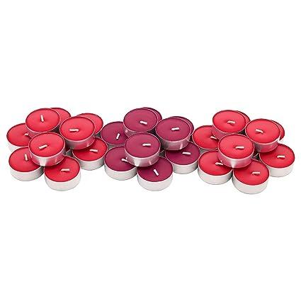 Velas de té aromáticas Sinnlig, coloridas, aroma floral, para boda
