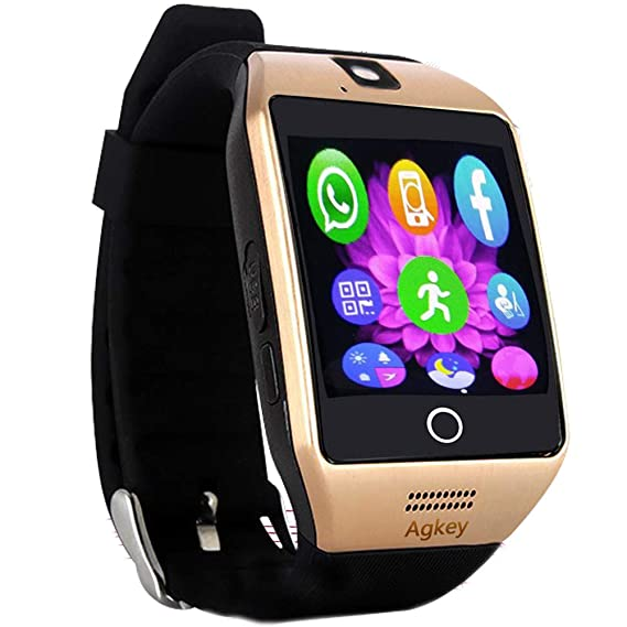 Smart Watch Touch Screen All-in-1 Smartwatch Wristwatch Unlocked Watch Phone with Camera Handsfree Call for Samsung S8 Plus S7 Edge S6 S5 J7 LG Huawei ...