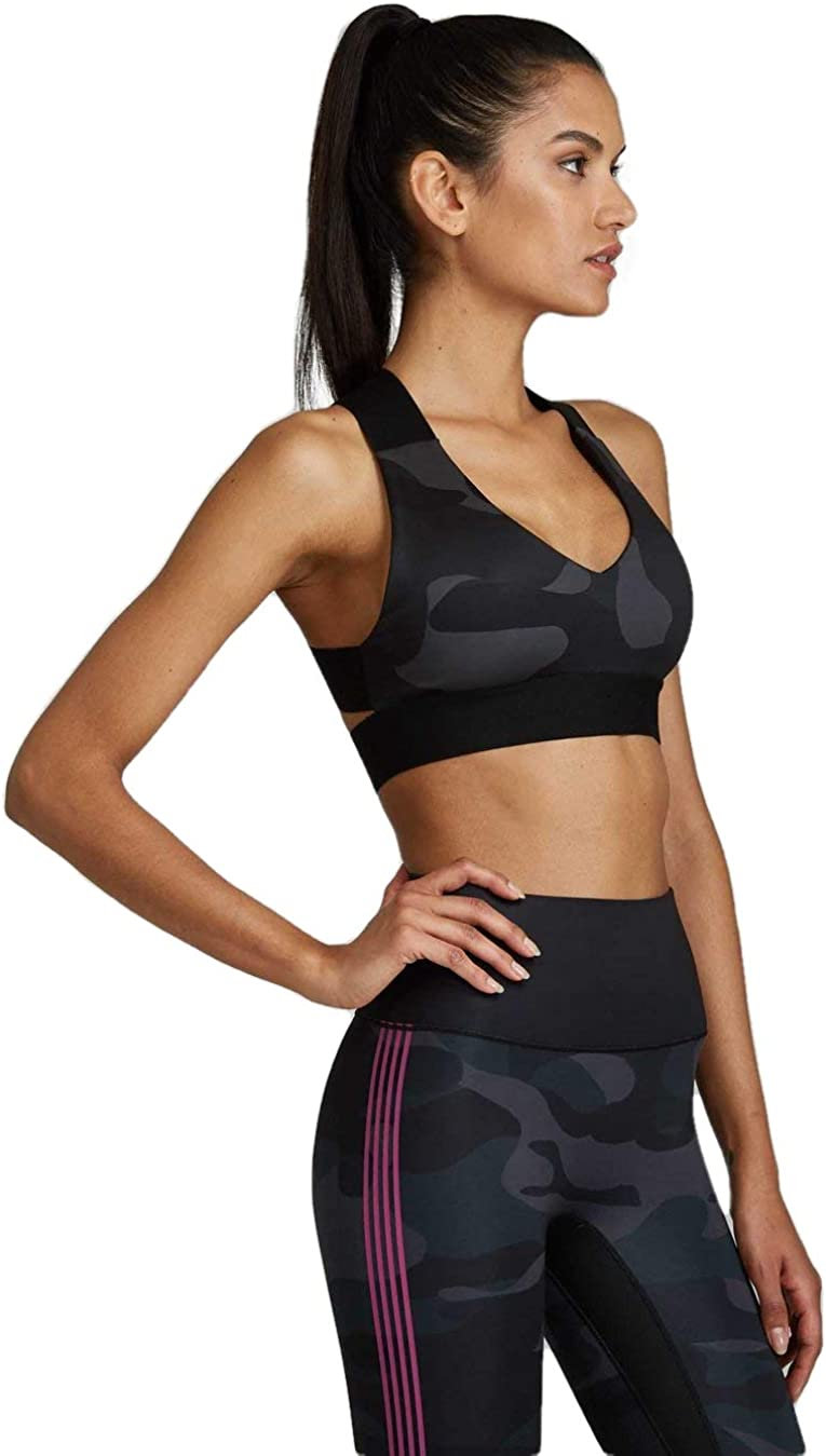 Noli Yoga Black Line Womens Performance Bra