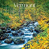 Vermont Wild & Scenic 2020 12 x 12 Inch Monthly Square Wall Calendar, USA United States of America Northeast State Nature