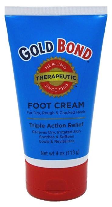 gold bond triple action foot cream