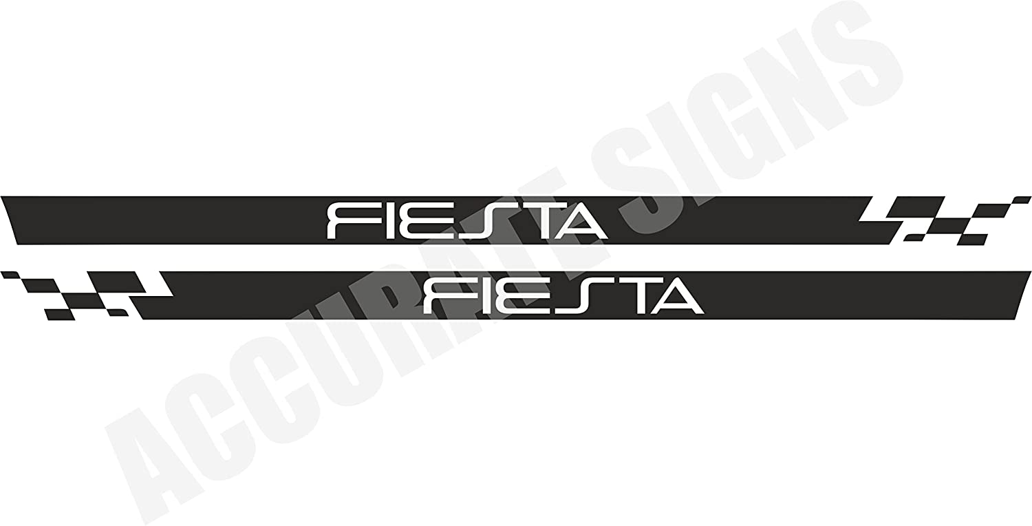accuratesigns Fiesta Side Stripes Kit Custom Graphics Decals Stickers
