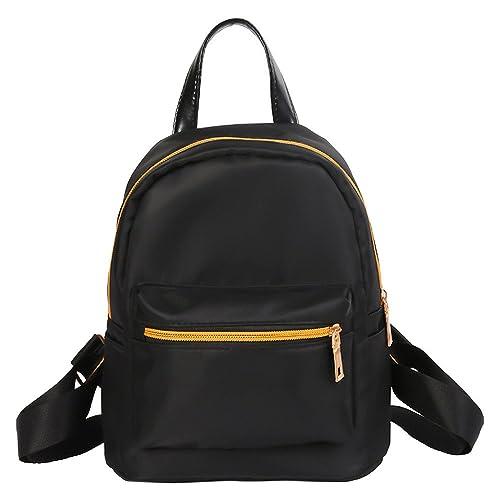 af6b43d3e616 Amazon.com: VESNIBA LLC Women Teenage Solid Zipper Backpack School ...