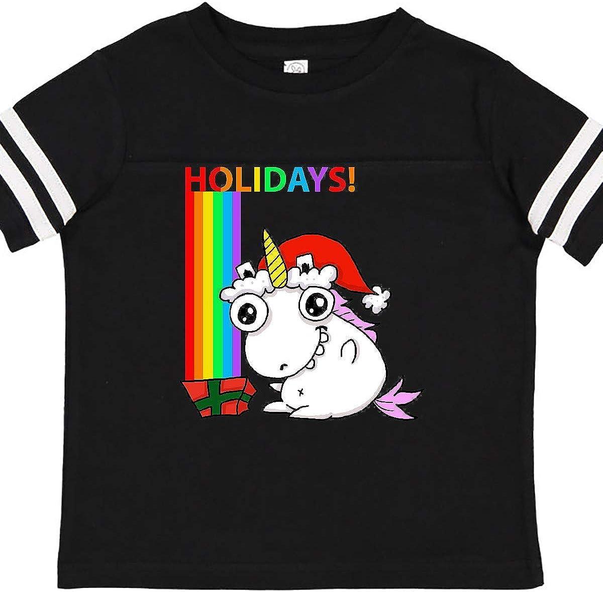 inktastic Unicorn Magic Christmas Long Sleeve Creeper