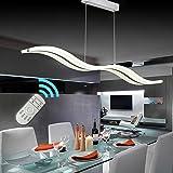 Lampadari,Create For Life® Design moderno ciondolo LED luce plafoniera lampadario appeso lampada per vivere contemporaneo sala da pranzo camera da letto del LED (dimmerabile + telecomando 38W)