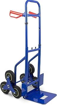 Bituxx klappbare Treppenkarre Sackkarre Treppensackkarre Stapelkarre bis 200Kg