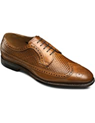 Allen Edmonds Men's Leiden Weave Wingtip Blucher 9 E Men 1996 Walnut