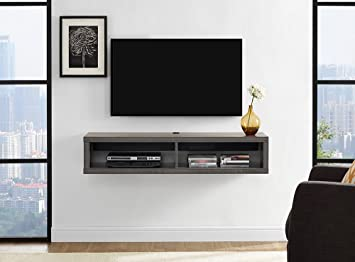 buy popular a060c 1dfa2 Martin Furniture Floating TV Console, 48