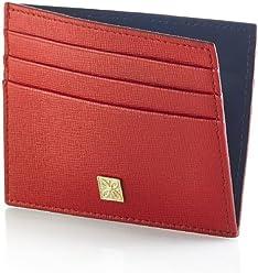 bbf7f6a2d4 Portadocumenti donna GERBA in pelle rosso e blu GB004-RED-BLU
