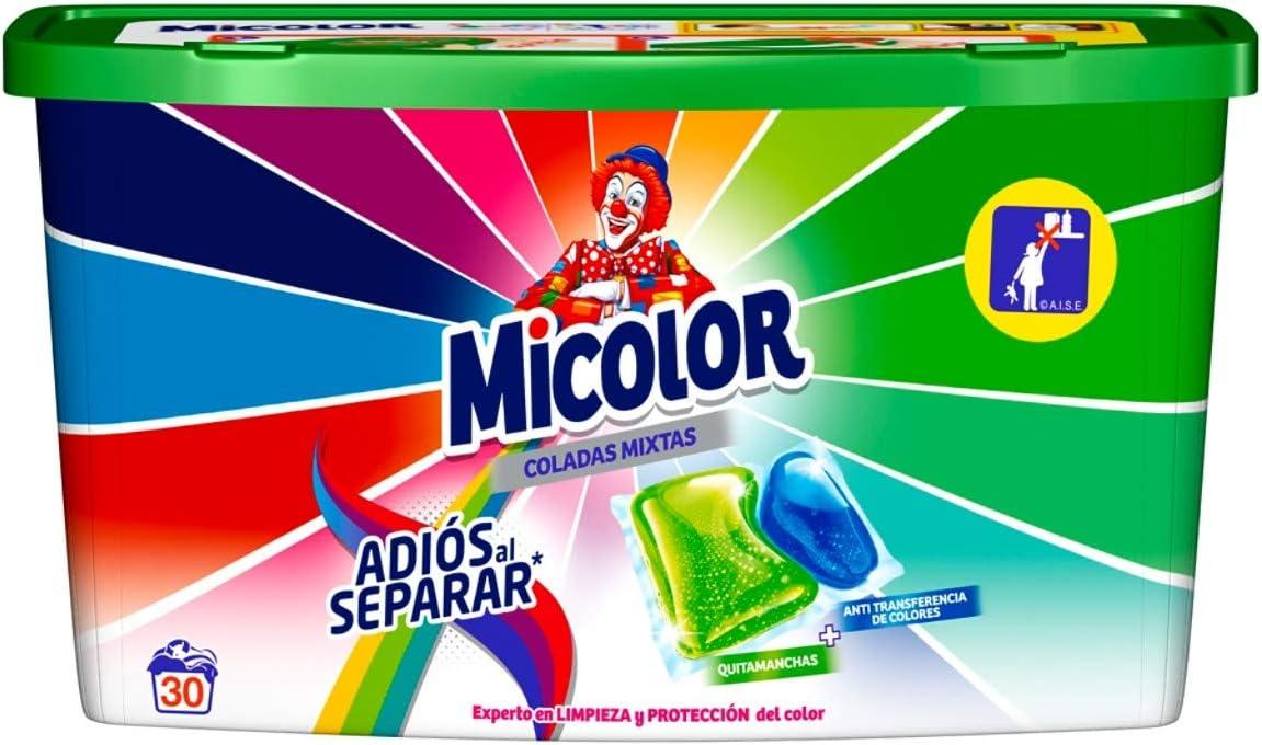 Micolor Detergente en Cápsulas Adiós al Separar - 30 Lavados