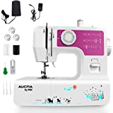 Portable Sewing Machine with 12 Built-in Stitches, Great Household Sewing Machine for Beginners Double Thread Mini…