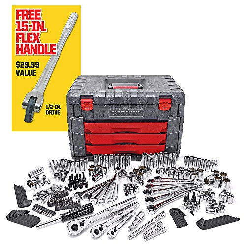 Craftsman Tool Set 254 pcs Mechanics Tool Set with 75Tooth Ratcheting ORIGINAL ..#from-by#_alphaprice10 ,ket241191936727431 by itonotry