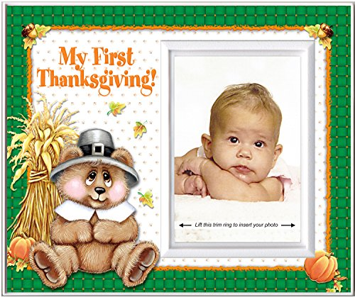 My First Thanksgiving - Picture Frame -