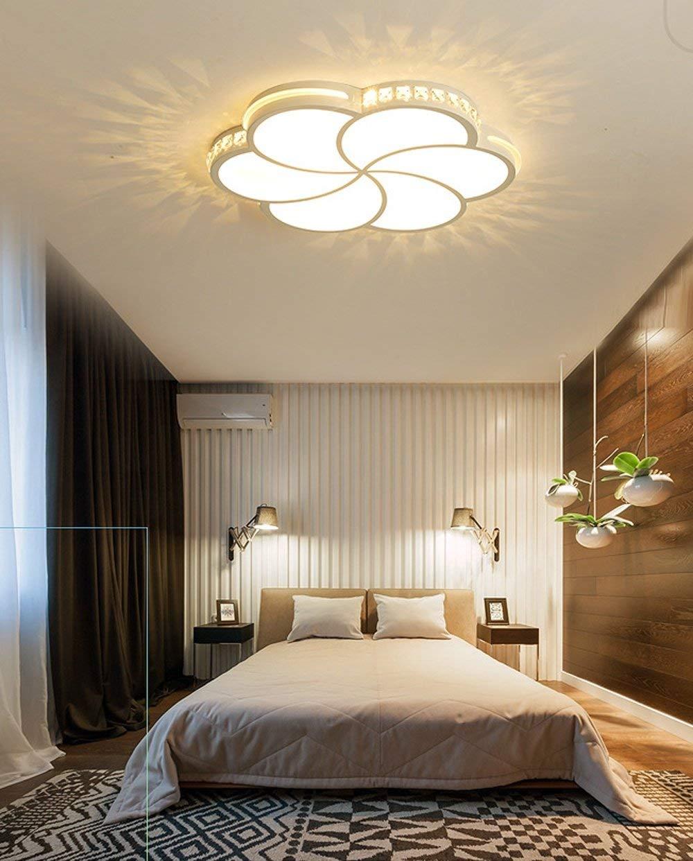 Amazoncom Afdk Led Ceiling Light Modern Simple Round