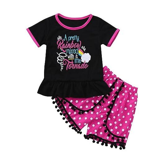 090630266255 Amazon.com  GoodLock Baby Girls Fashion Clothes Set Toddler Kids ...