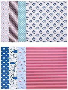 cartoncino carta decorativa 24/Design 3/X Blocchi di fogli con 20/fogli ciascuno stampati su entrambi i lati carta di design 60/fogli