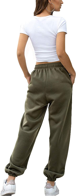 Cutiefox Womens High Waisted Sweatpants Workout Jogger Lounge Pants with Pockets