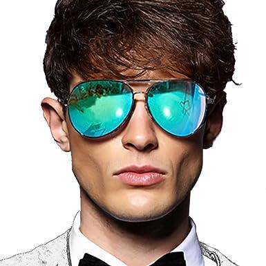 c87d4971c1e Sunglasses Mens Womens Hard Case Aviator Retro Sunglasses Mirrored  Polarized Lens Womens Sun Glasses Retro Designer