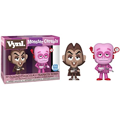 Funko Vynl. Monster Cereals - Count Chocula & Franken Berry: Toys & Games