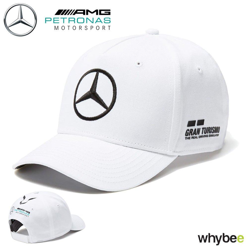 2018 Mercedes-AMG F1 Lewis Hamilton Drivers Cap (WHITE) Adult One Size Mercedes-AMG Petronas Formula One Team