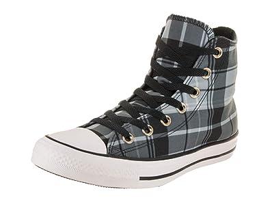 4704d92667d644 Converse Chuck Taylor All Star Hi Women s Shoes Black White Black 561754f  (5.5