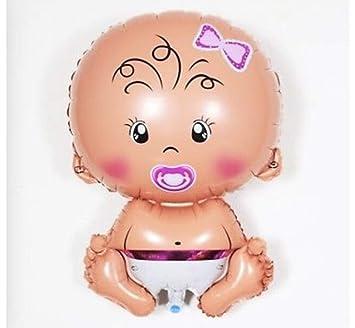 Amazon.com: Chupete con forma de bebé para niña, con globo ...