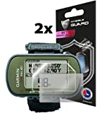 IPG Compatible with Anti - Glare Garmin Foretrex 401 Hiking GPS (2X) (1 Clear & 1 Anti-Glare Protector) Invisible Film…