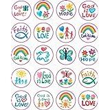 Carson Dellosa Christian Faith Shape Stickers (5239)