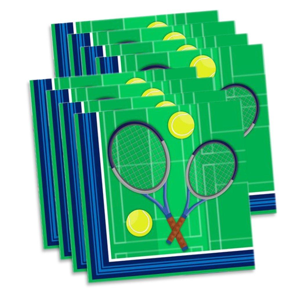 Amazon Tennis Birthday Party Supplies Set Plates Napkins Cups