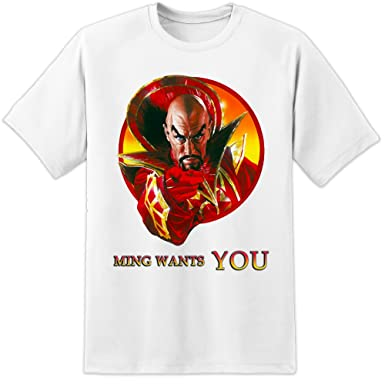 3379d949801dd DPX-1 Flash Gordon MING want you - Retro Movie Poster T Shirt (S-3XL) Ming  The Merciless  Amazon.co.uk  Clothing