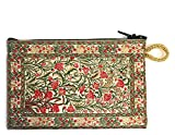 Tulips Symbol of Love Tapestry Coin Change Rosary Case Pouch 5 1/2 inch