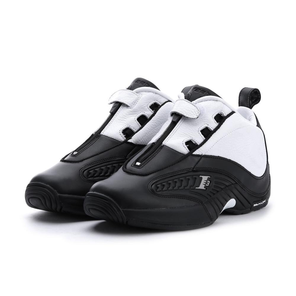 best selling new lifestyle various styles Reebok Men Answer IV Stepover (Black/White / Steel)