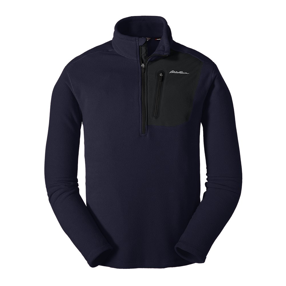 Eddie Bauer Men's Cloud Layer Pro 1/4-Zip Pullover, Atlantic Regular XL by Eddie Bauer