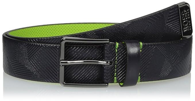 HUGO by Hugo Boss Ther - Cinturón de piel para hombre  Amazon.com.mx ... 966305e2957e