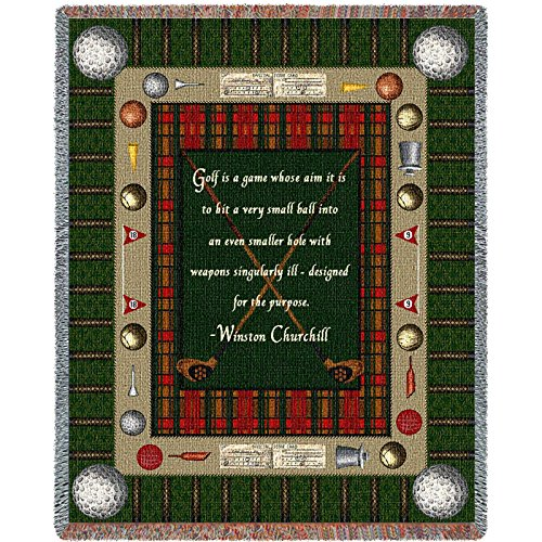 Pure Country Inc. Churchill Golf Blanket Tapestry Throw