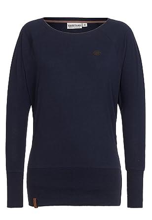 Naketano Groupie V Women Sweater Sweatshirt, Größe S Farbe dark blue ... c878d51330