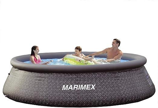 Marimex Tampa - Piscina hinchable para jardín, redonda: Amazon.es: Jardín