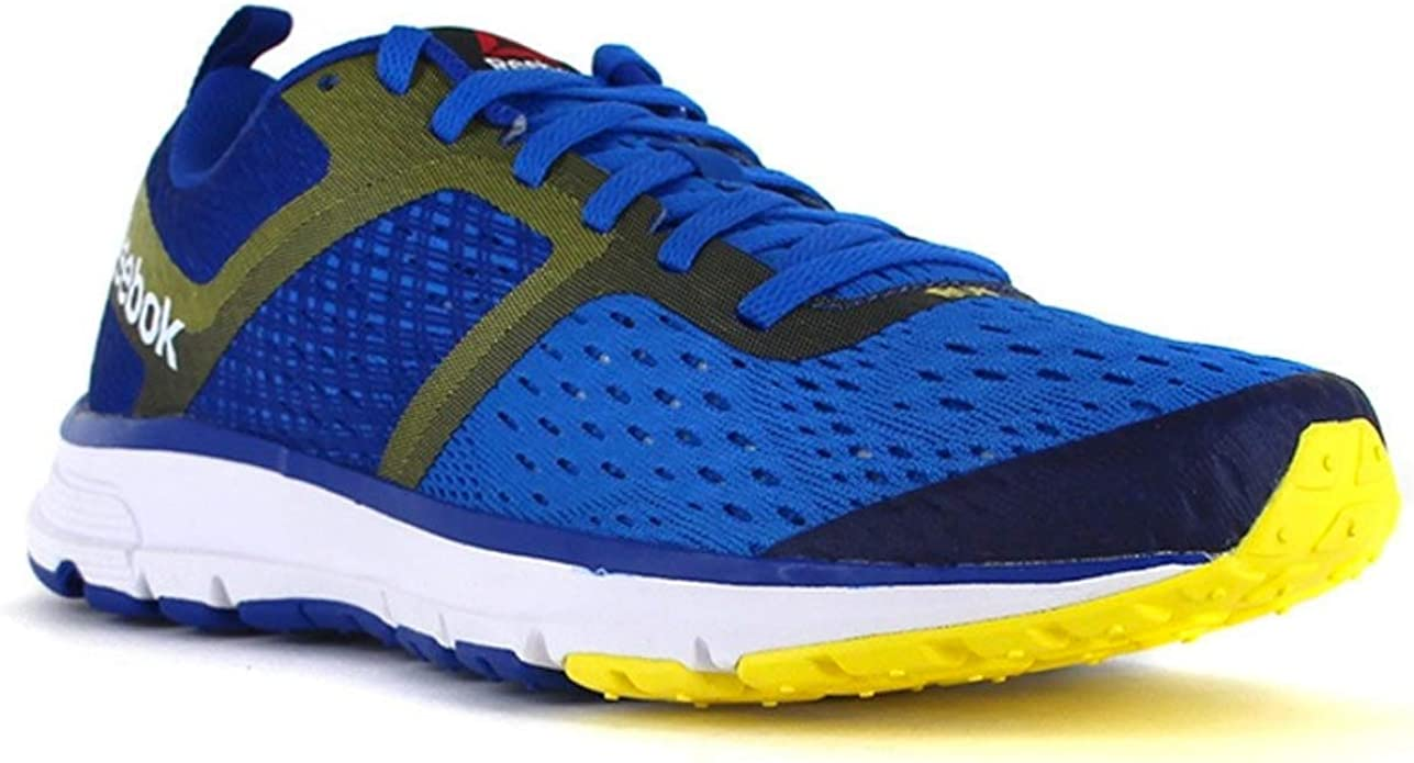 Reebok One Distance, Zapatillas de Running para Hombre, Azul/Amarillo/Blanco (Blue Sport/Coll Royal/Yellow Spark/White), 48.5 EU: Amazon.es: Zapatos y complementos