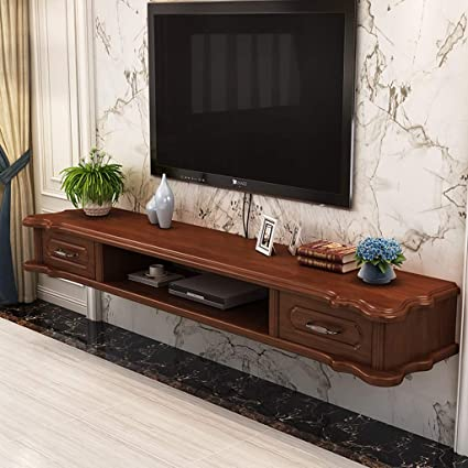 Amazon.com: Wall-Mounted TV Cabinet with Drawer Bedroom ...