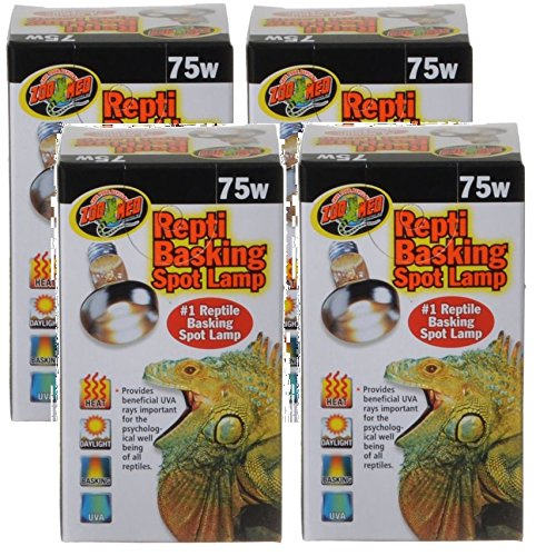 - Zoo Med Repti Basking Lamps 75 Watt (4 Pack)