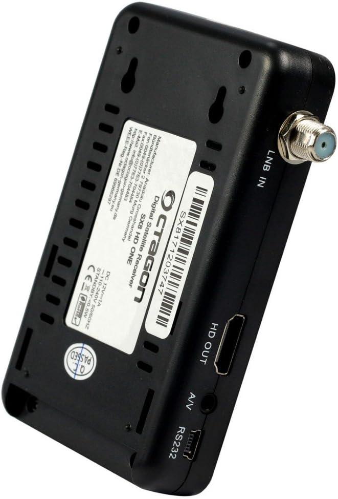 Externer Infrarot Empfänger IR Auge für Octagon SX8 Mini Full HD DVB-S2 Multist.
