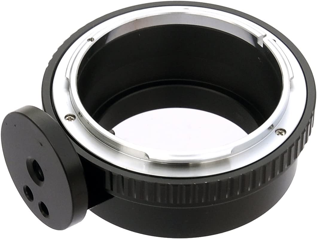 MD to EOS M Adapter Compatible with Minolta MD Rokkor Lens and Canon EOS M Mount Mirrorless Camera M1 M2 M3 M5 M6 M6 Mark II M10 M50 M100 Fotasy MD Lens to Canon EOS M Adapter