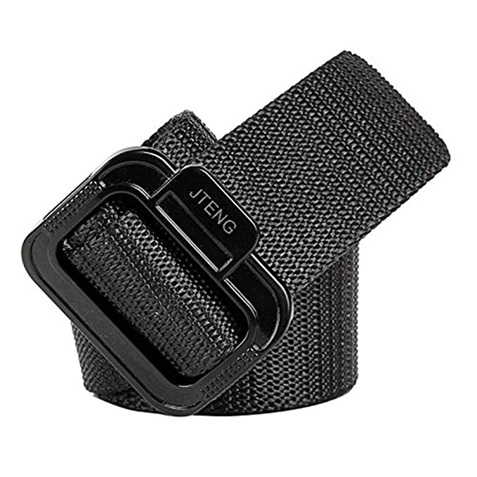 Web Cinturón JTENG Militar cinturón hebilla hebilla Nylon táctico deber cinturón táctico TDU Belt hombres de aeropuerto con cinturón para ...
