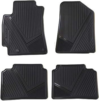 Black//Black FL011519064 Allweather Tapetes para Autos CLIM ART Honeycomb Custom Fit Floor Mats for Kia Forte 2019-2020 Car Floor Liner 1st /& 2nd Row Car Accessories
