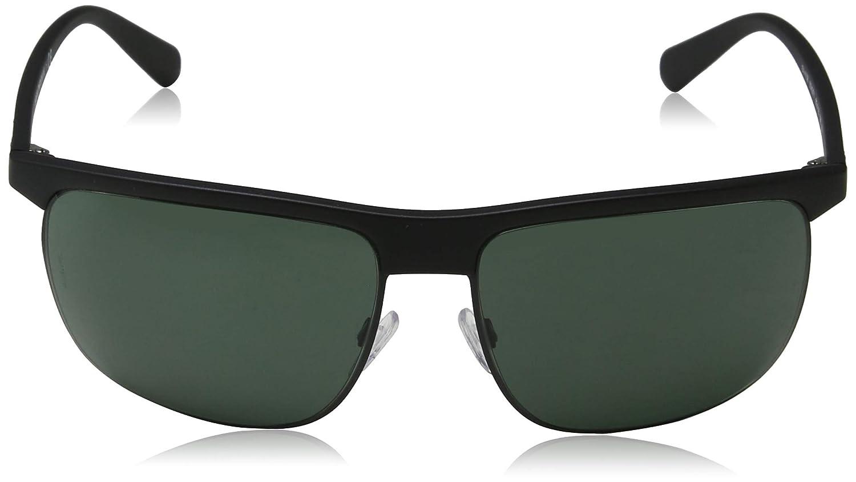 023c938ac22 Emporio Armani sunglasses (EA-4108 504271) Matt Black - Matt Gun - Grey  green lenses  Amazon.ca  Clothing   Accessories