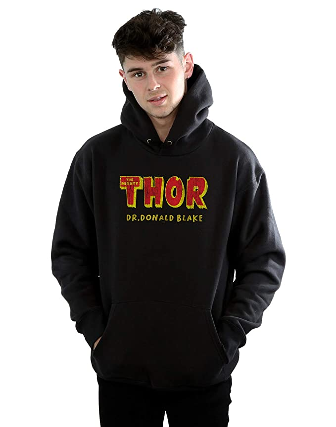 Marvel Homme Thor AKA Dr Donald Blake Sweat À Capuche