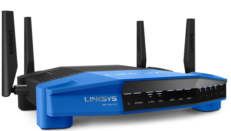 Linksys AC1900 Dual Band Open Source WiFi Wireless Router (WRT1900AC) Renewed by Linksys