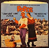 Popeye / I Yam What I Yam / He Needs Me; PICTURE SLEEVE ONLY / NO RECORD ...
